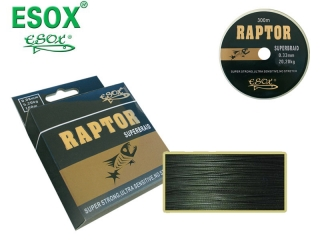 Dyneema  ESOX RAPTOR SUPERBRAID 0,40 mm / 300 m